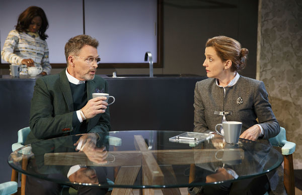Tim Daly and Orlagh Cassidy
