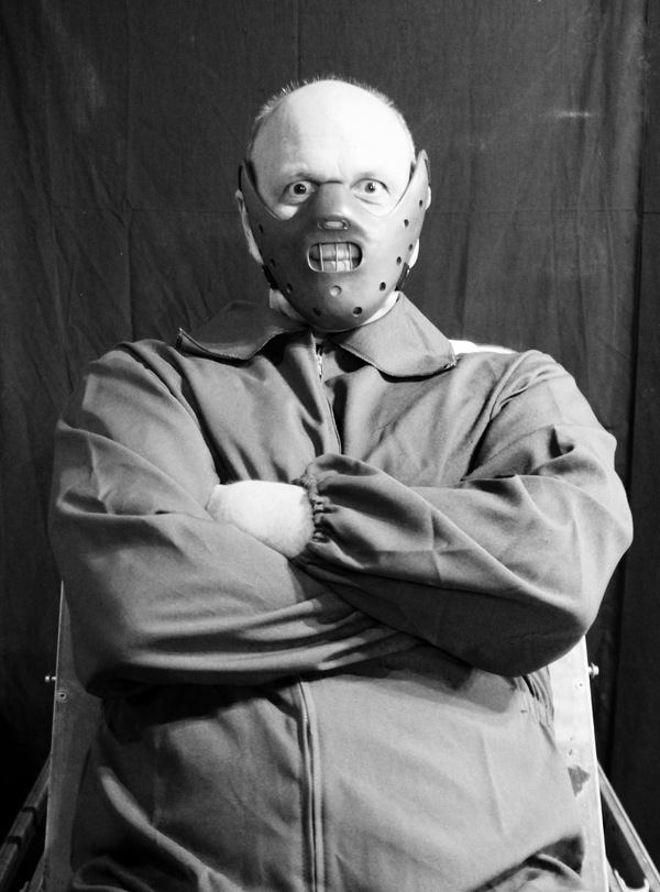 Chris Gibson as Hannibal Lecter Photo