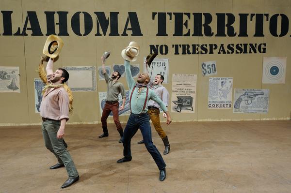 Photo Flash: First Look at Trinity Rep's 52nd Season Closer OKLAHOMA!
