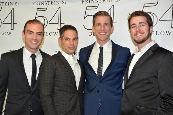 James Olmstead, JV Mercanti, Benjamin Eakeley and Tim Murray Photo