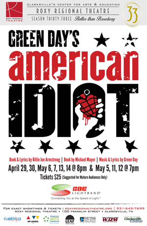 BWW Review: The Roxy Regional Theatre's AMERICAN IDIOT is Electrifyingly Immersive