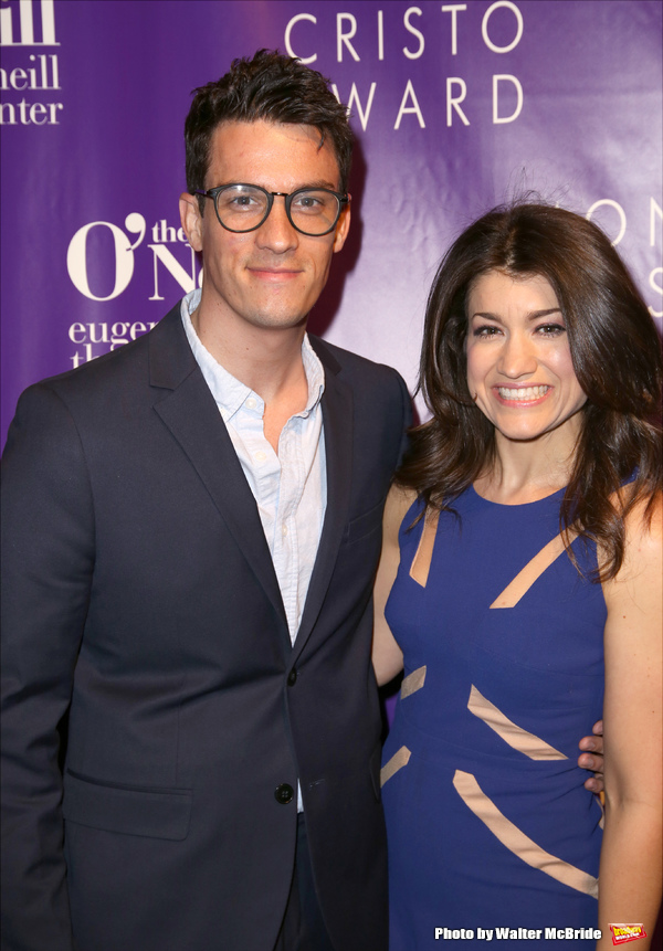 Preston Sadleir and Sarah Stiles  Photo