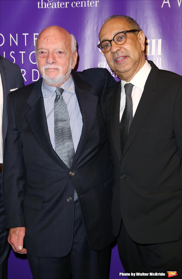 Hal Prince and George C. Wolfe