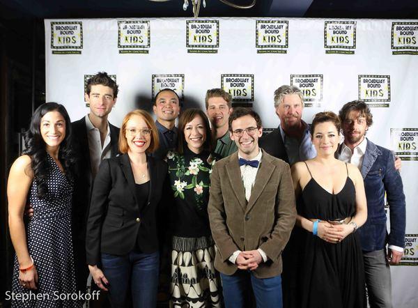 The Broadway Bee Spellers, Lauryn Ciardullo, (Aladdin), Drew Gehling, (Waitress), Jes Photo
