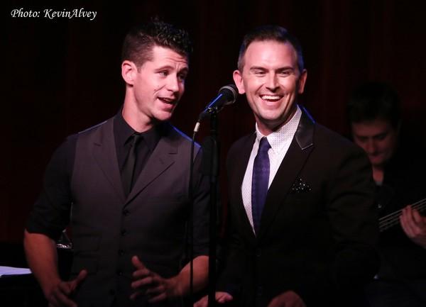 Luke Hawkins and Daniel Reichard