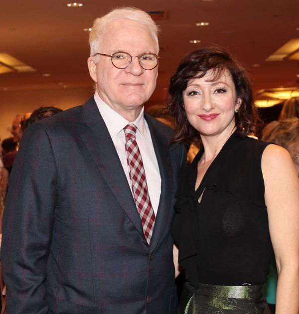 Steve Martin and Carmen Cusack