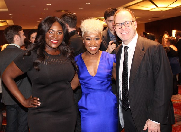 Danielle Brooks, Cynthia Erivo and Scott Sanders