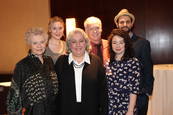 Reed Birney, Jayne Houdyshell, Lauren Klein, Sarah Steele, Arian Moayed and Cassie Beck