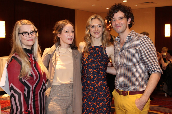 Kellie Overbey, Brooke Bloom, Marin Ireland and Michael Urie
