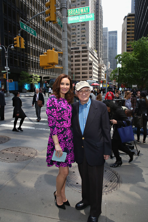 SHE LOVES ME actress Laura Benanti and lyricist Sheldon Harnick