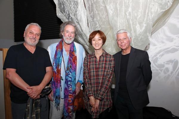 Judd Miller, Fred Selden, Hana Kim, and Ralph Humphrey