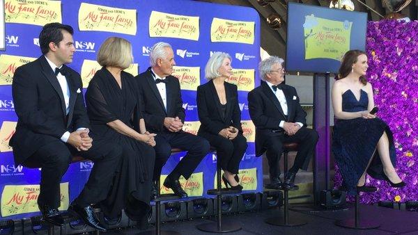 Mark Vincent, Deidre Rubenstein, Tony Llewellyn-Jones, Robyn Nevin, Reg Livermore and Anna O'Byrne
