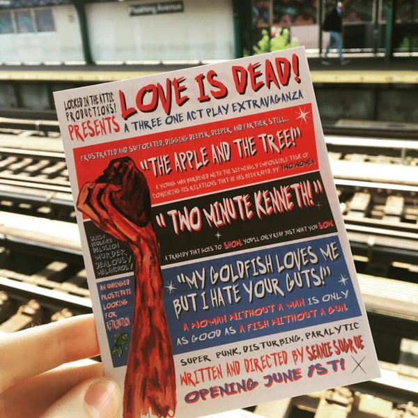 Photo Flash: Sneak Peek at LOVE IS DEAD!, Coming to 13th Street Rep