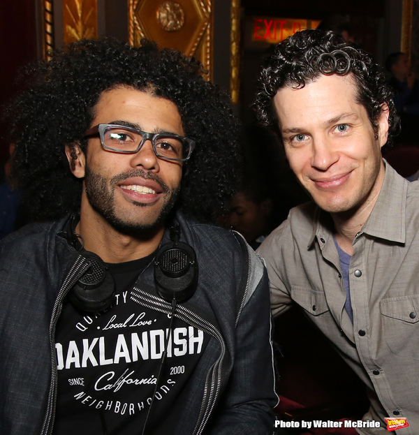 Daveed Diggs and Thomas Kail