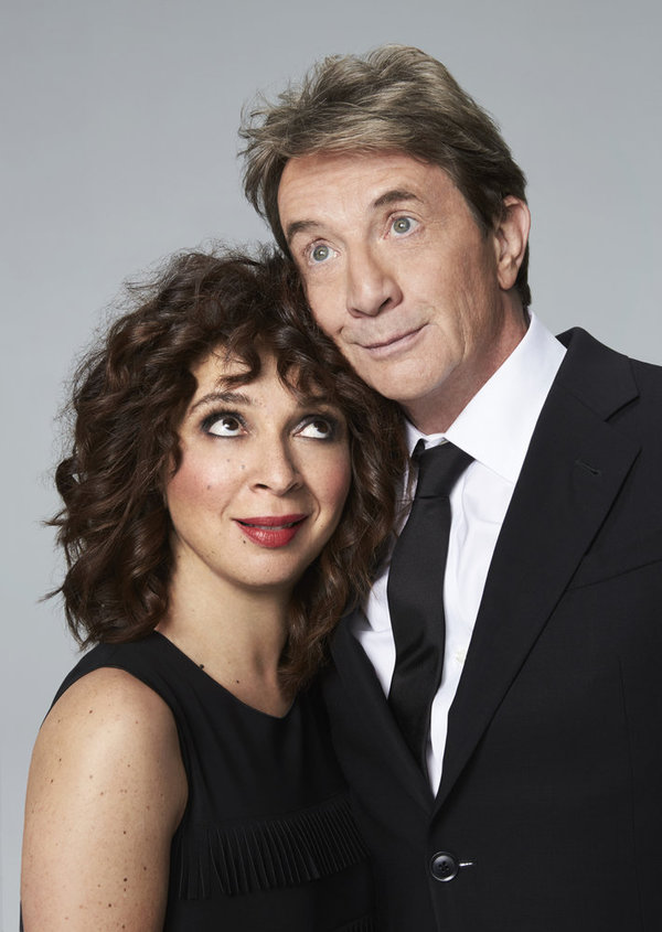 MAYA & MARTY -- Season: 1 -- Pictured: (l-r) Maya Rudolph, Martin Short -- (Photo by: Mary Ellen Matthews/NBC)
