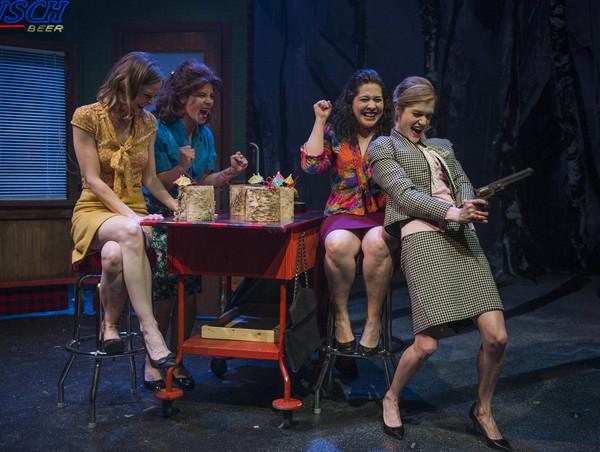 Erin Barlow, Lauren Sivak, Sadieh Rifai and Meghan Reardon Photo