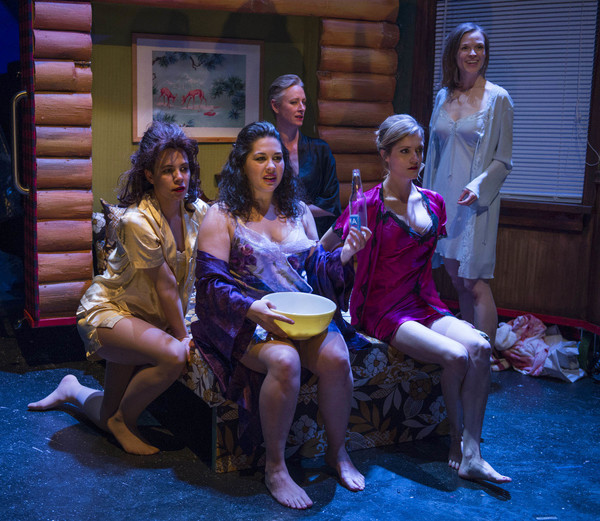 Lauren Sivak, Sadieh Rifai, Kelli Simpkins, Meghan Reardon and Erin Barlow