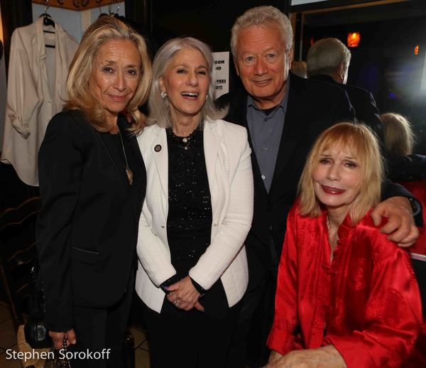 Eda Sorokoff, Jamie deRoy, Stephen Sorokoff, Sally Kellerman Photo