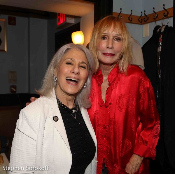 Jamie deRoy & Sally Kellerman Photo