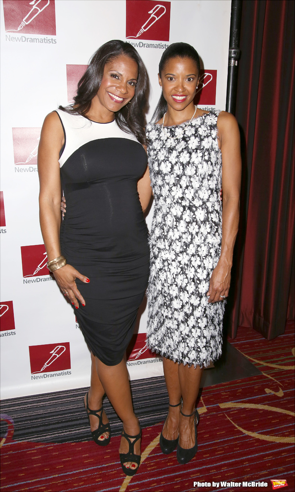 Audra McDonald and Renee Elise Goldsberry