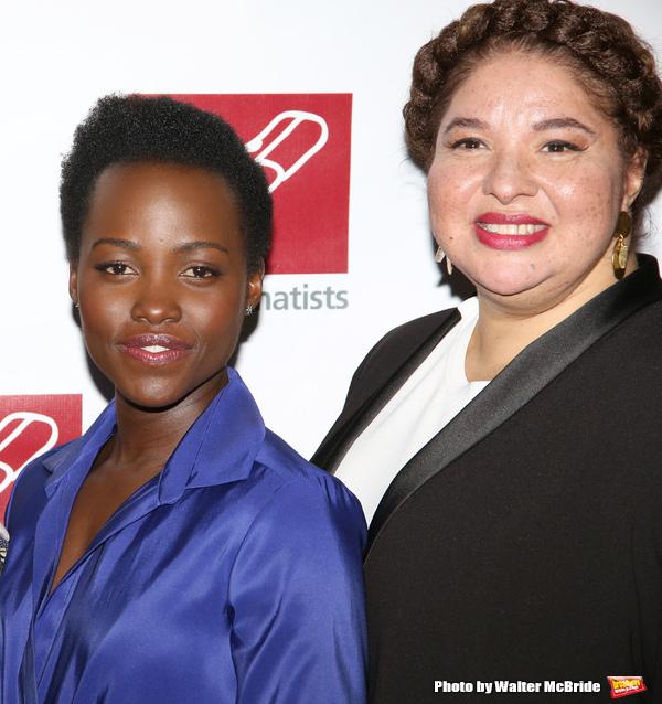 Lupita Nyong'o and Liesl Tommy