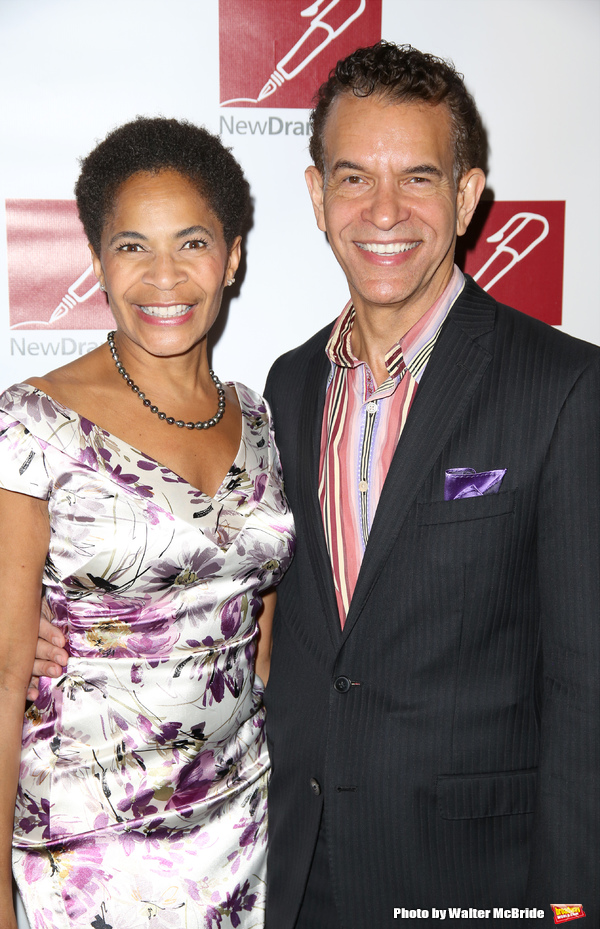 Allyson Tucker and Brian Stokes Mitchell