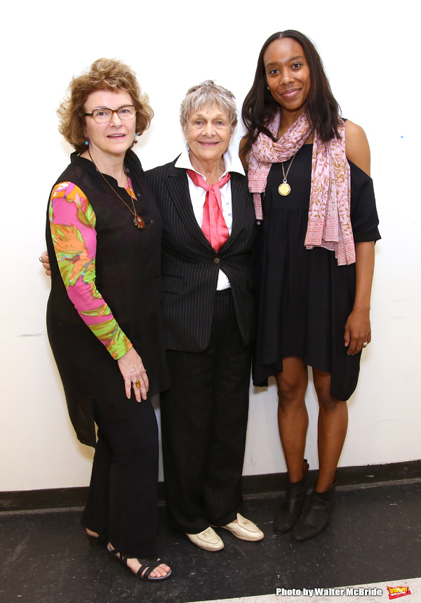 Angelina Fiordellisi, Estelle Parsons and Francesca Choy-Kee
