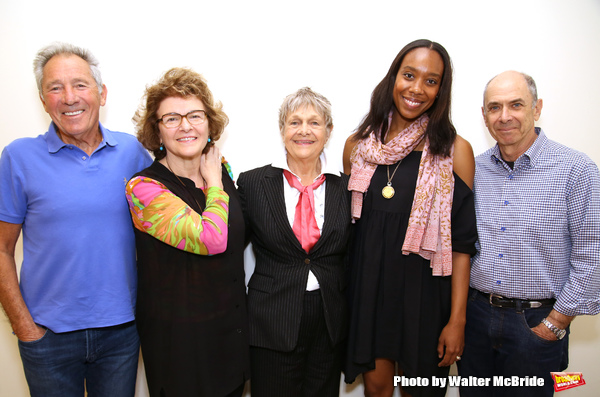 Israel Horovitz, Angelina Fiordellisi, Estelle Parsons, Francesca Choy-Kee and  Barne Photo