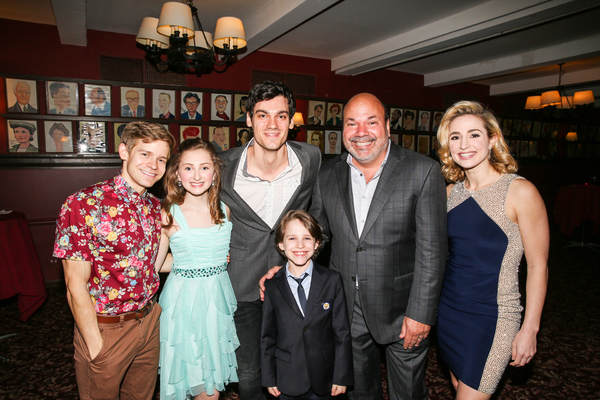Andrew Keenan-Bolger, Sarah Charles Lewis, Robert Lenzi, Marco Schittone, Casey Nicholaw, Jessica Lee Goldyn
