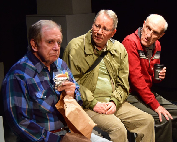 Sam Anderson, Carl J. Johnson and John Gowans