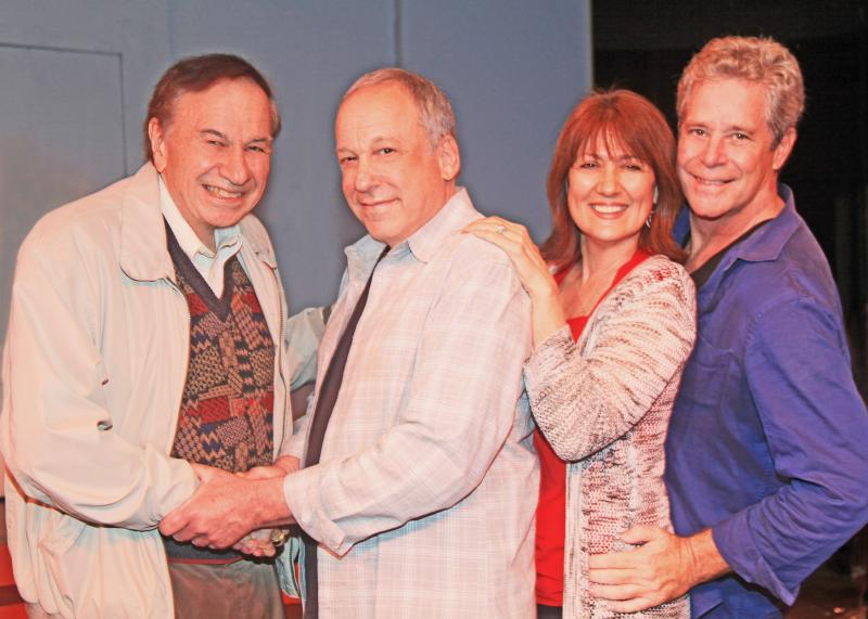 Photo Flash: Richard M. Sherman Visits Opening Night of Bruce Kimmel's L.A. NOW AND THEN