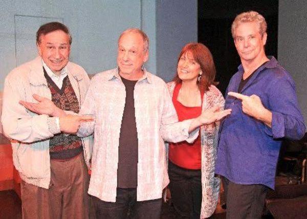 Richard M. Sherman (music & lyrics), Bruce Kimmel (creator/director), and Cheryl Baxt Photo