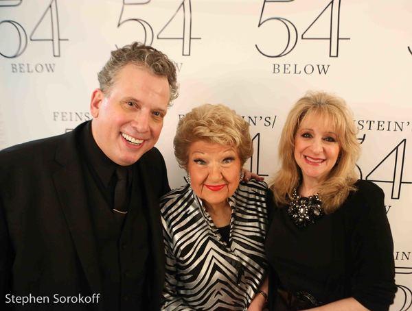 Billy Stritch, Marilyn Maye, Julie Budd