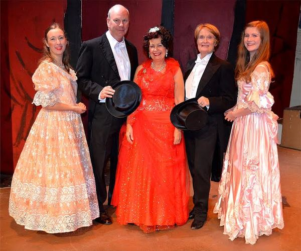 Photos: First Look at THE GLORIOUS OLD TIME MUSIC HALL at Limelight Theatre