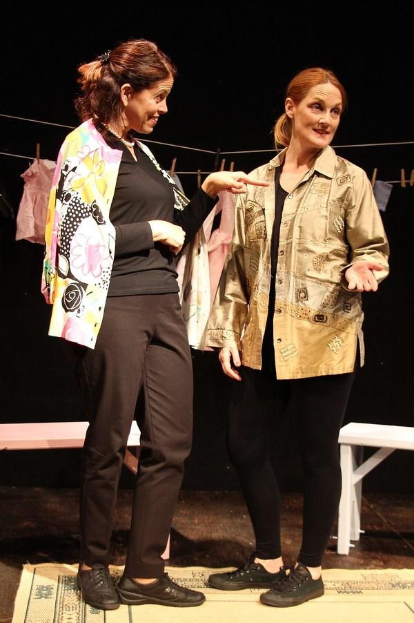Lucy Babbitt and Leigh Katz