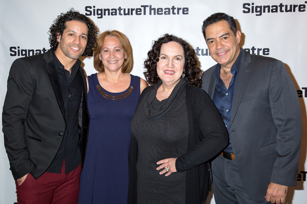 Luis Salgado, Olga Merediz, Carlos Gomez