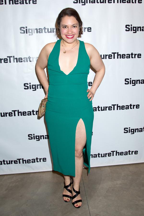 Photo Coverage: Signature Theatre Celebrates Opening Night of DAPHNE'S DIVE