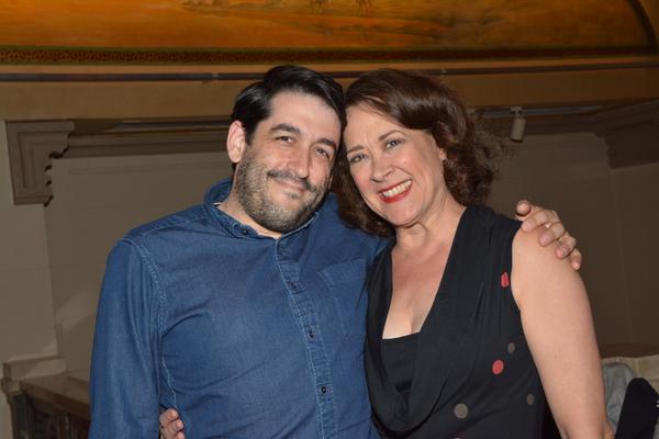 Evan Cabnet and Karen Ziemba