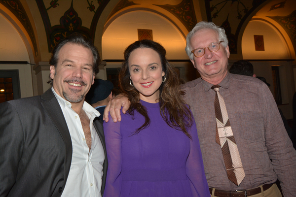 Richard Troxell, Melissa Errico and Jack Viertel (Encores! Artistic )