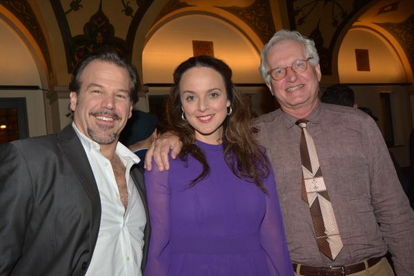 Richard Troxell, Melissa Errico and Jack Viertel (Encores! Artistic )