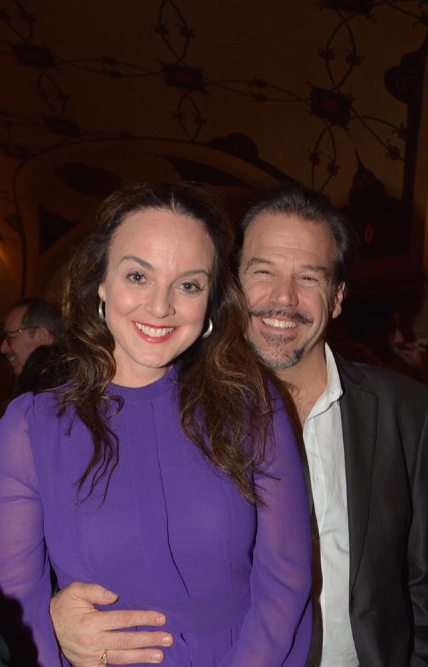 Melissa Errico and Richard Troxell