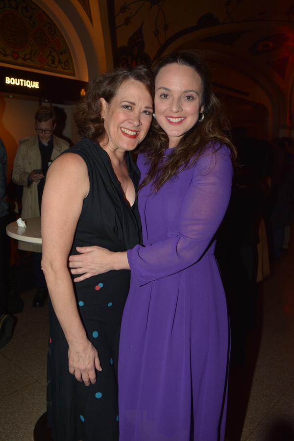 Karen Ziemba and Melissa Errico