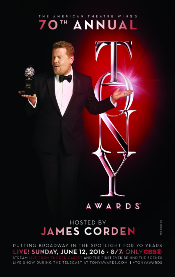 Photo Flash: Host James Corden Ready to Roll in New TONY AWARDS Poster & Promo Shots