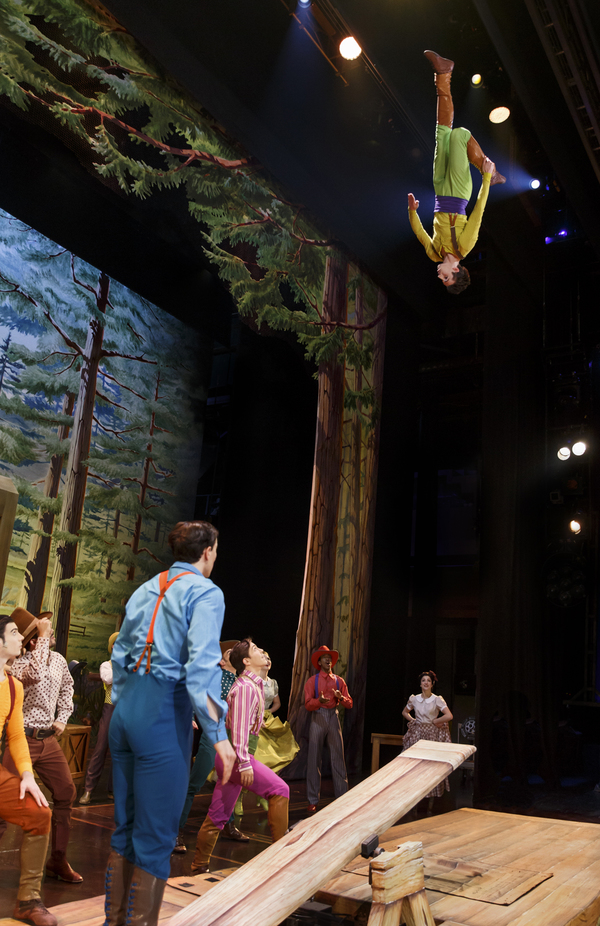 Photo Flash: New High-Flying Look at Cirque du Soleil's PARAMOUR on Broadway!