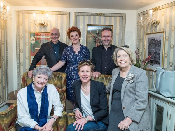 Edward Seckerson, Sophie-Louise Dann, Mark Warman, Julia McKenzie, Thea Sharrock and Anne Reid