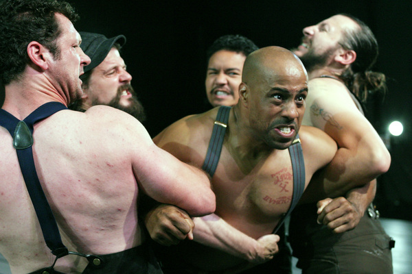 Photo Flash: First Look at THE HAIRY APE at Odyssey Theatre