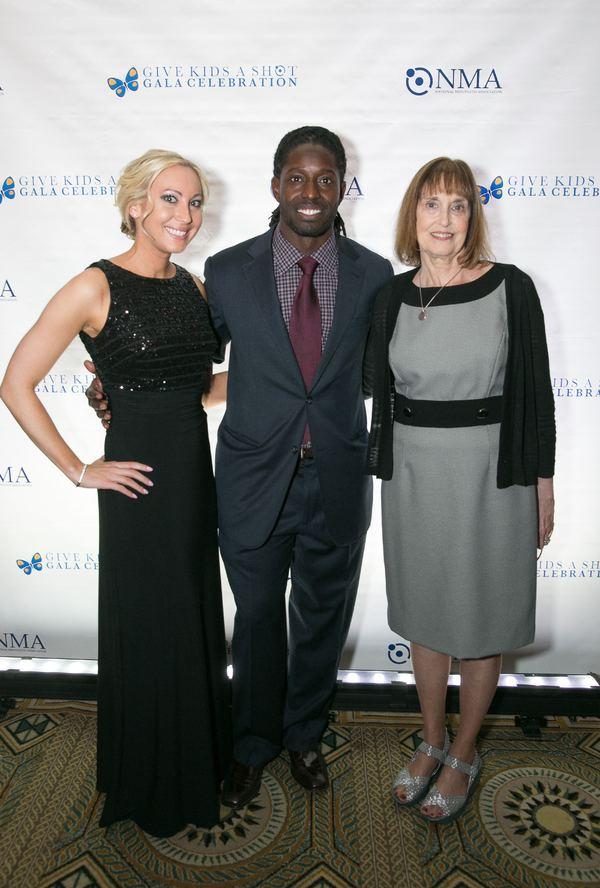 Deion Branch, Lynn Bozof and guest Photo
