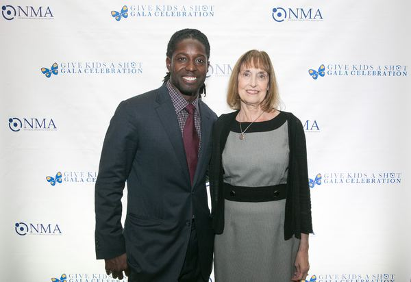 Photo Flash: NMA's 'Give Kids a Shot' Gala Honors Super Bowl MVP Deion Branch