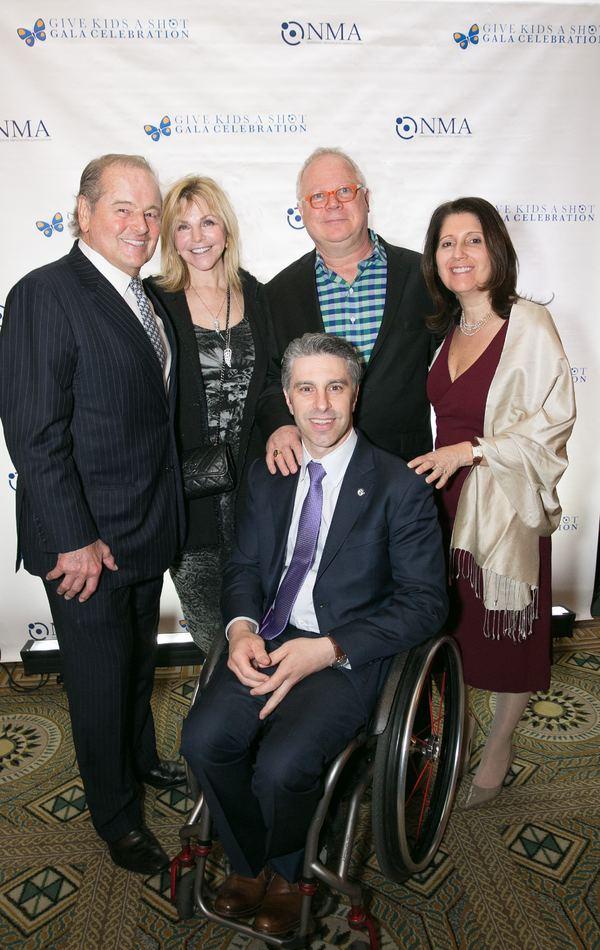 Rod Gilbert and Judy Gilbert, Gary Springer and Susan and Victor Calise Photo