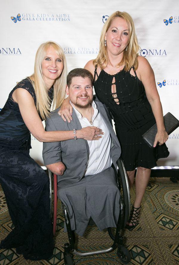 Sarah Herbert-Galloway, Nick Springer and Heather Randall